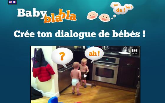 babyblabla site parler bébé