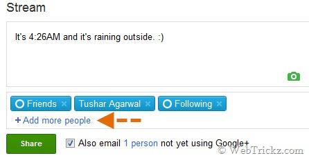 astuces google+