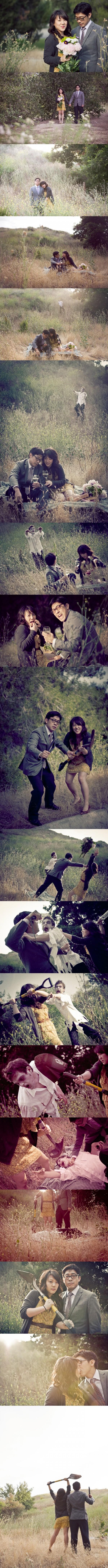 mariage zombies geek