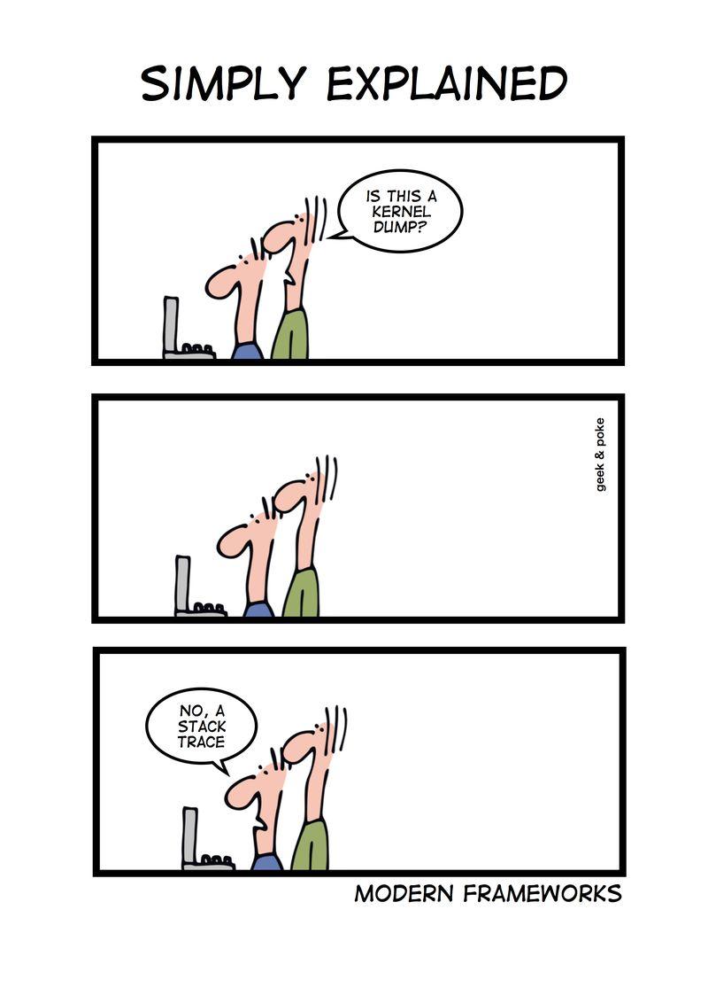 humour développeurs en bande dessinnée