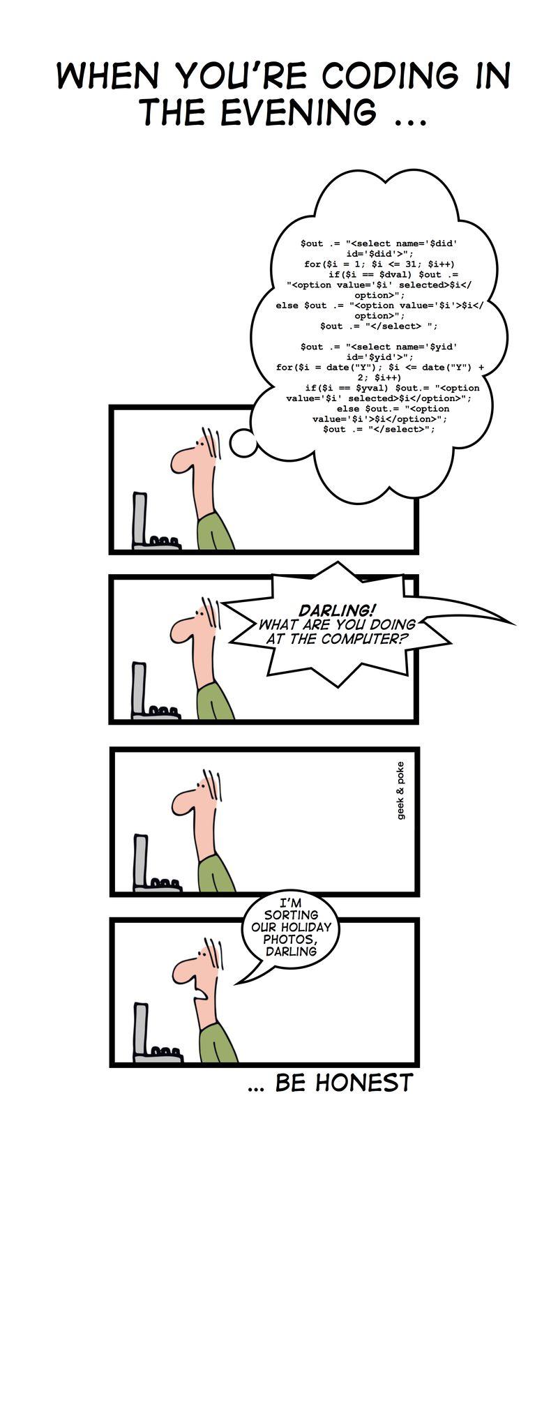 bande dessinée geek & poke lol humour developpeurs