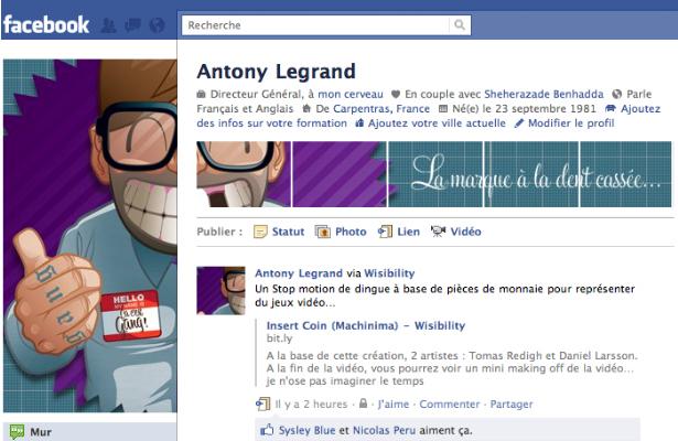 profils facebook originaux