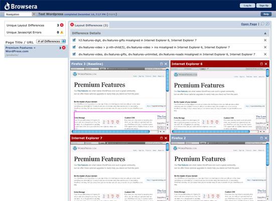 browsera test ie chrome firefox