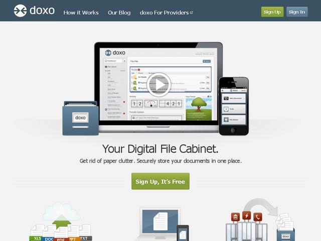 doxo stockage fichiers personnels sécurisé sécurité confidentiel gratuit