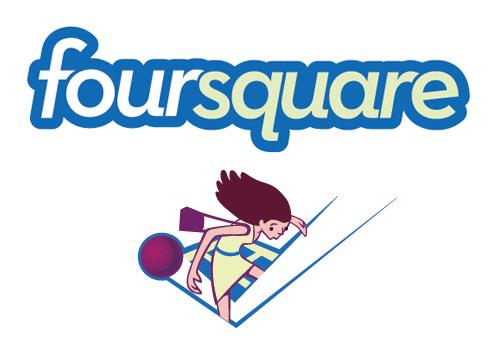 foursqurae check in evenements