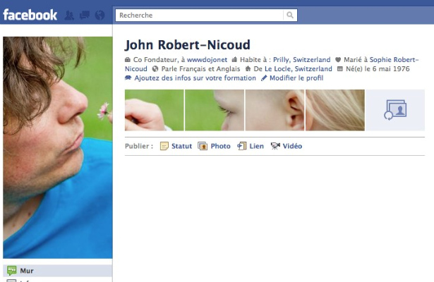 profil fb exemple