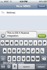 Ios5 : speech-to-text ?