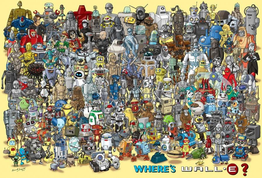où est wall-e lol geek fun