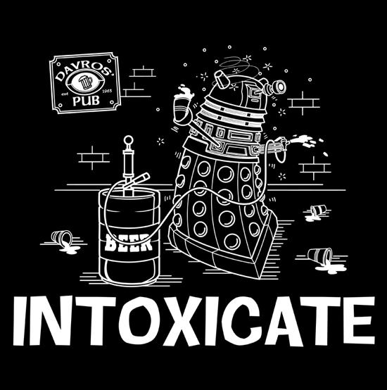 tee shirt doctor who dalek
