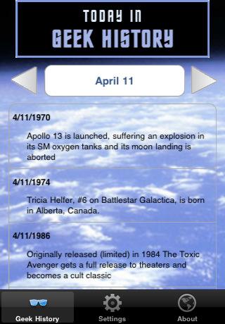 histoire événements geeks