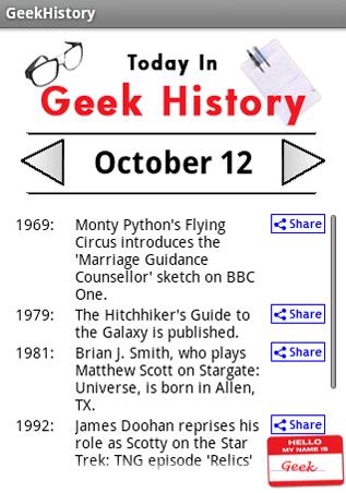 geek références histoire