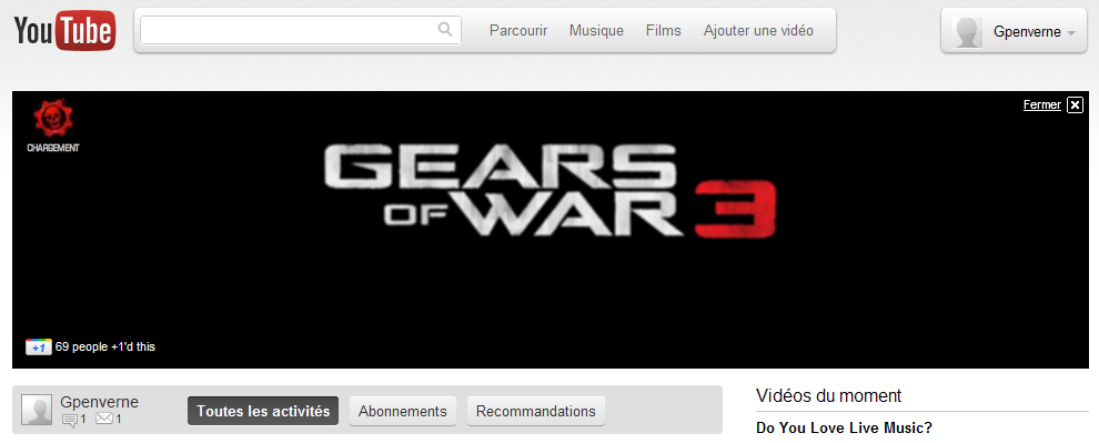 Essayez la nouvelle interface youtube