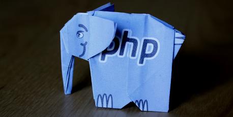 php origami pliages logo éléphant