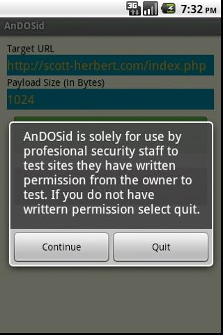 outil ddos android