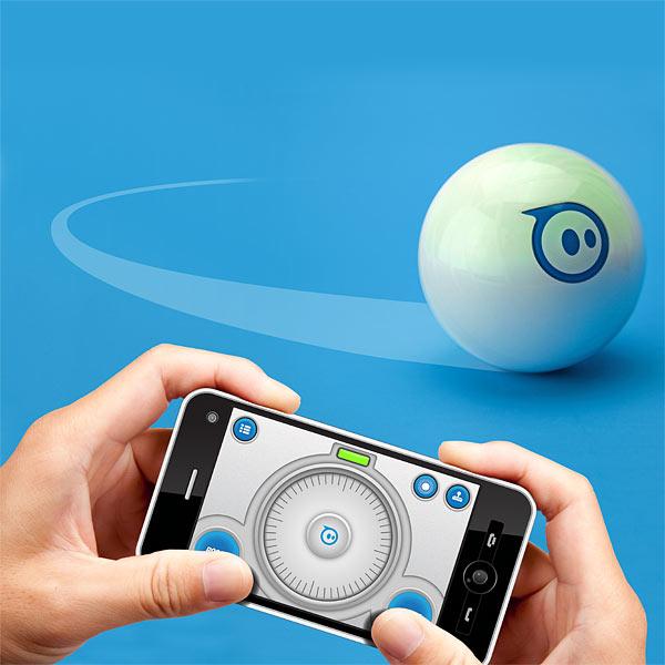 Une balle contrôlée par votre smartphone
