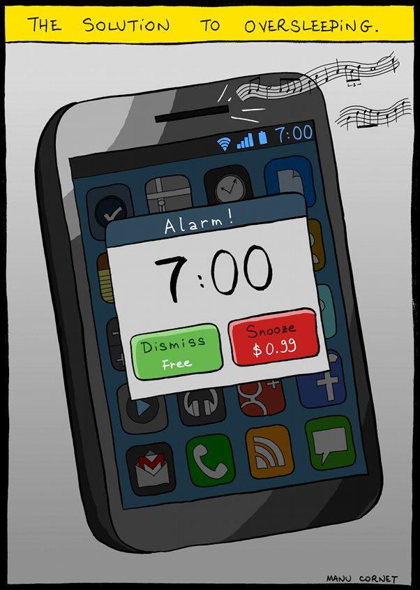 Concept solution pour réveil plus efficace