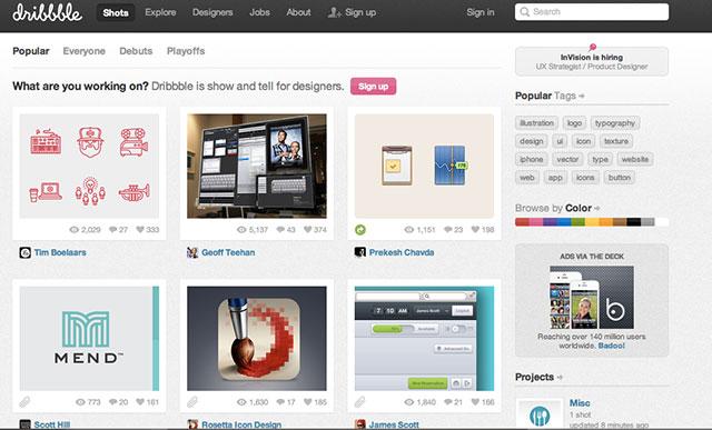 outils simples pour créer votre portfolio ligne