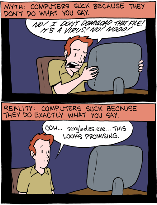 Virus sur ordinateurs mythe contre réalité