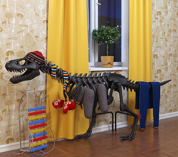 Thermosaurus radiateur dinosaure