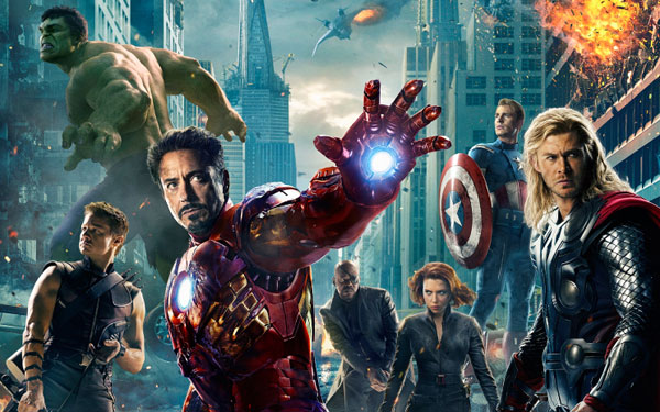 Statistiques - The avengers sur twitter