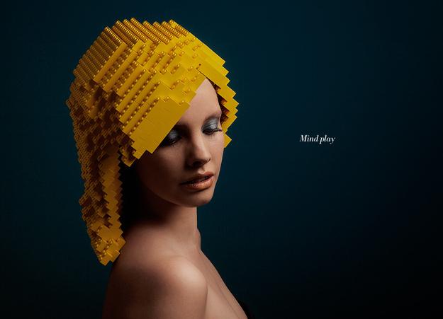 Elroy Klee Des coiffures tout Lego