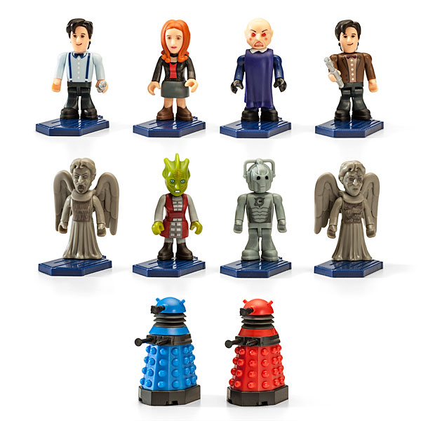 nouvelles mini figurines Doctor Who