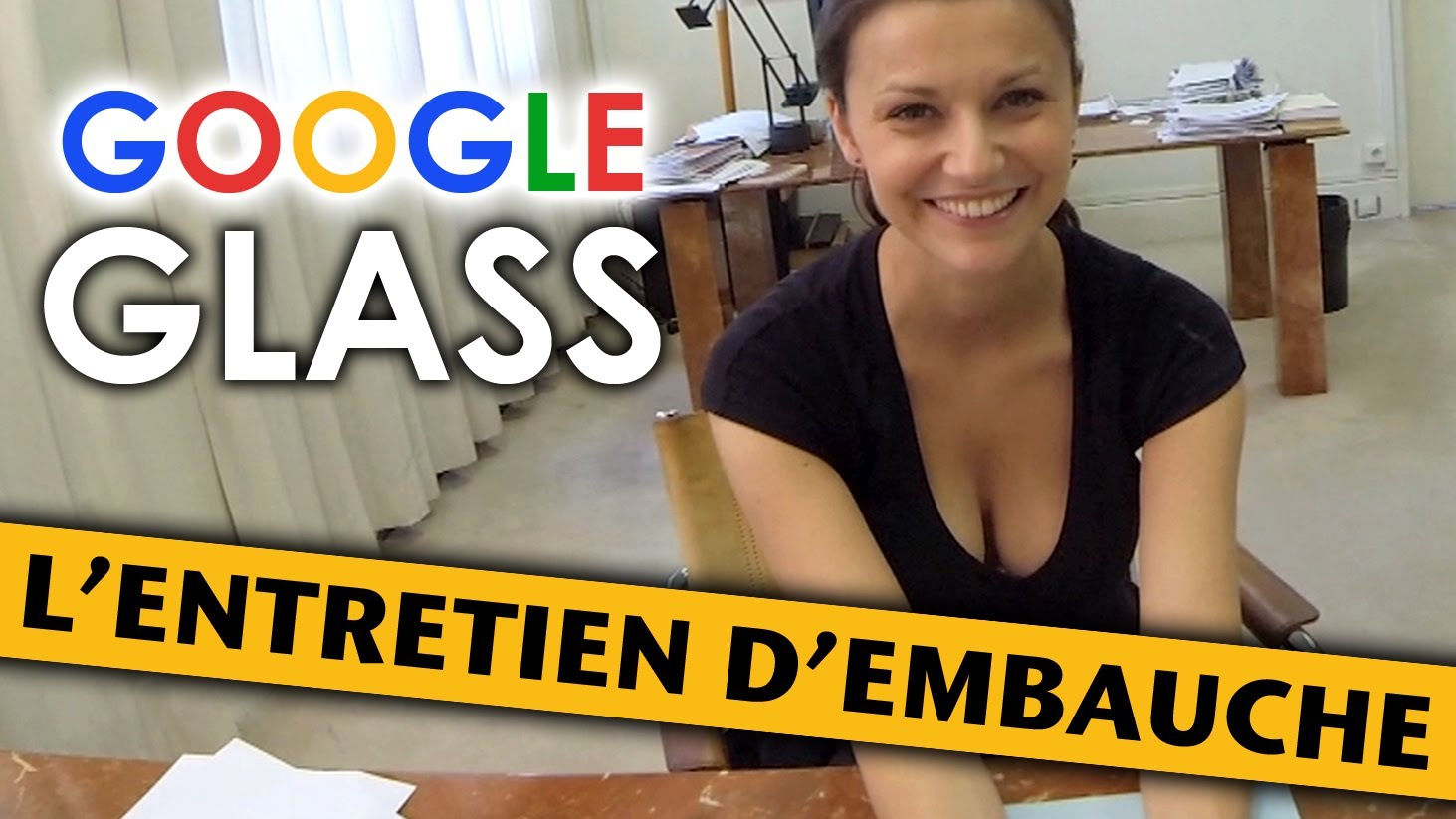 comment google glass revolutionner entretien embauche humour videos google glass