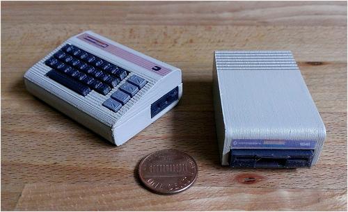 Un commodore 64 miniature