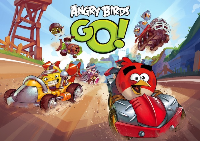 Angry Birds: le jeu de kart?