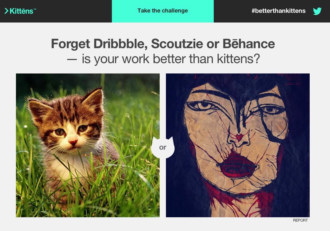 BetterThanKittens: Ton graphisme vaut-il mieux que des chats?
