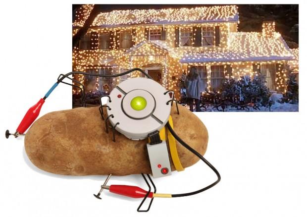 Eclairez toute votre maison avec des patates