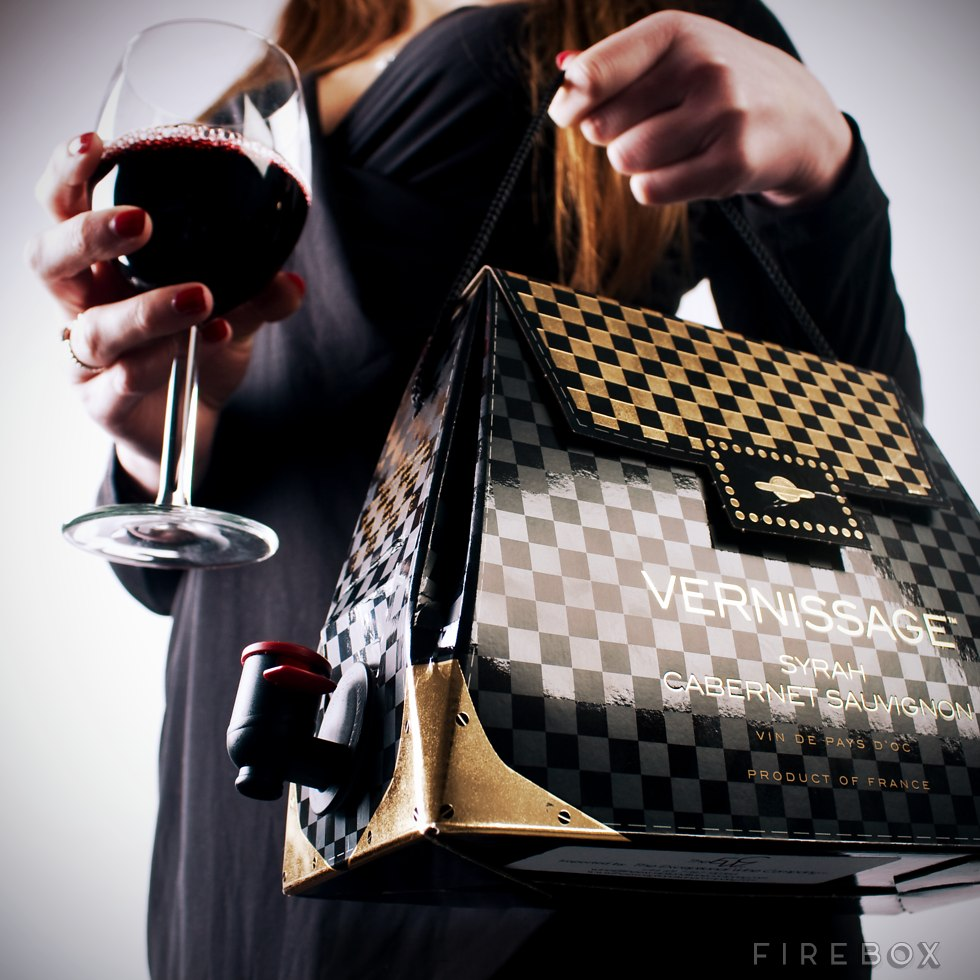 Le sac à main cubi de vin: idéal pour picoler discretos