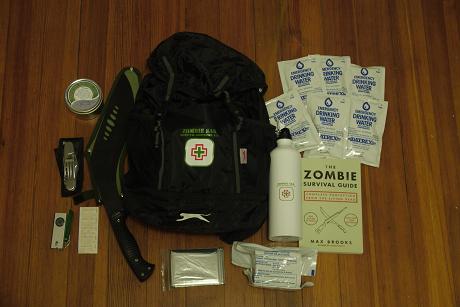 Un kit de survie en cas d'attaque Zombie