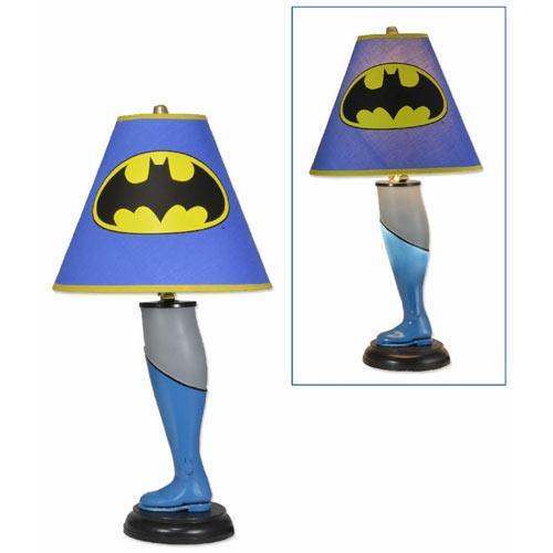Les lampes de chevet Super Héros
