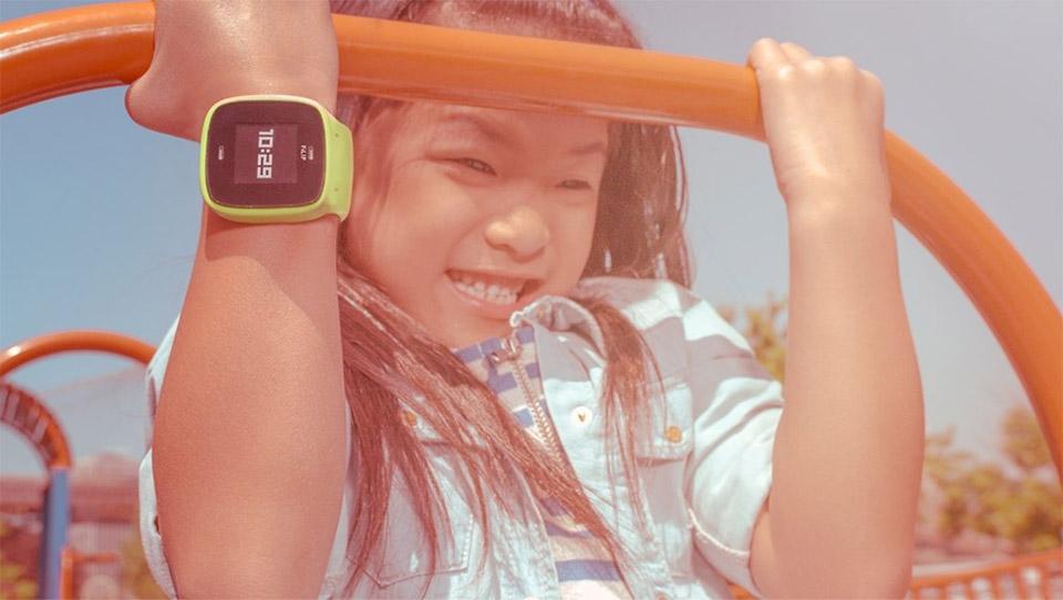 La montre GPS pour ne pas perdre vos enfants