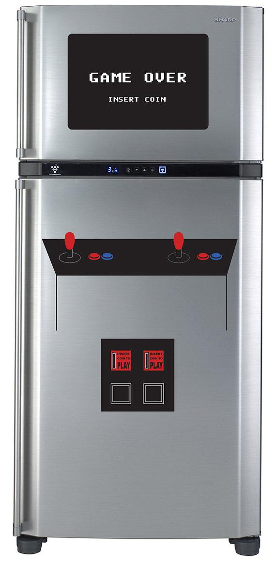 Transformes ton frigo en borne d'arcade
