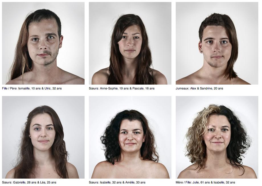 Portraits génétiques - A quel point ressemblez vous à vos proches?