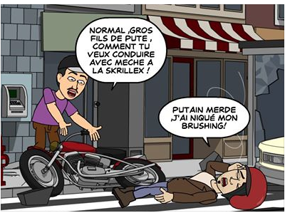 application facebook Bitstrips: ta vie illustrée sur Facebook