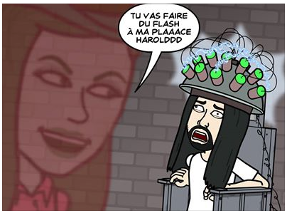 Bitstrips: ta vie illustrée sur Facebook application facebook