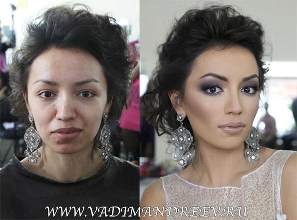 Vadim Andreev, le roi du maquillage qui rend beau