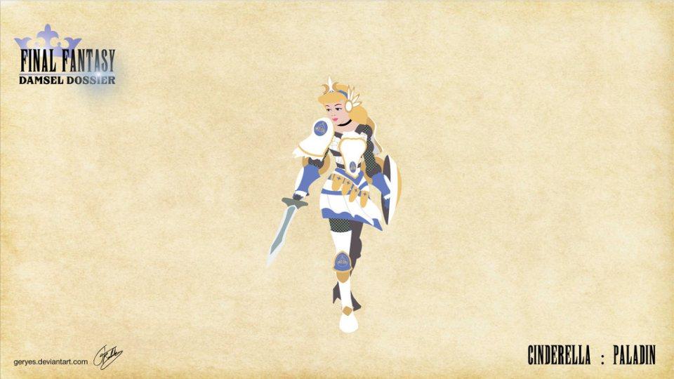 Les princesses Disney version Final Fantasy