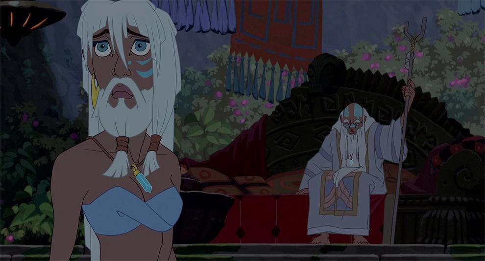 Et si les princesses disney avaient eu une barbe?