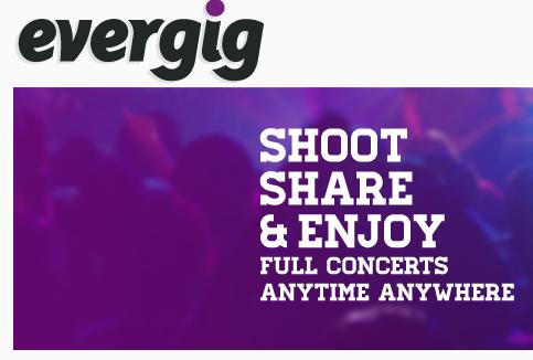 Evergig: le site pour revivre les concerts