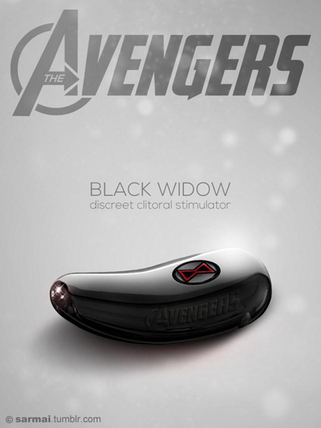 Des sex toys Avengers?