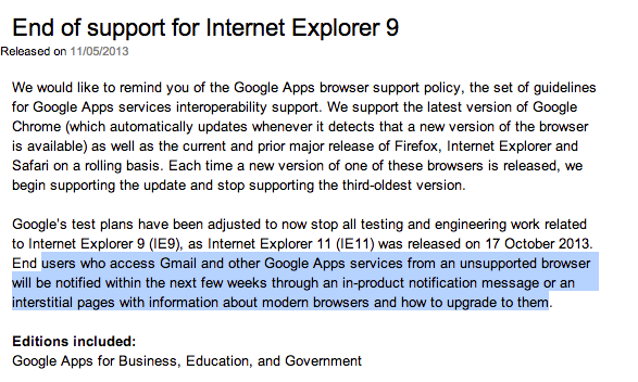 Internet Explorer 9: c'est la fin?