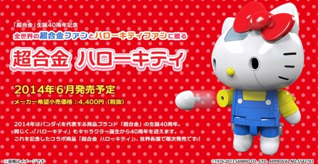 Un Hello Kitty version robot de combat