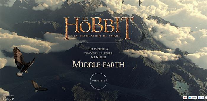 hobbit exploration google terre milieu geek gkdv geekndev tolkien