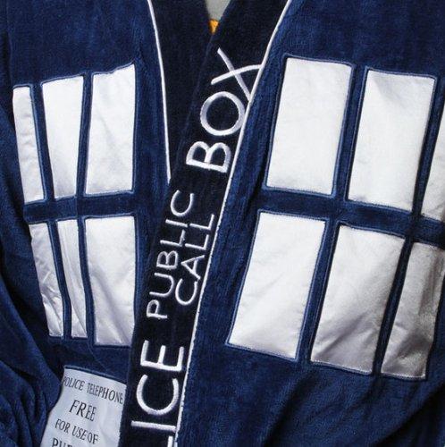 Doctor Who: Un peignoir Tardis pour les fans