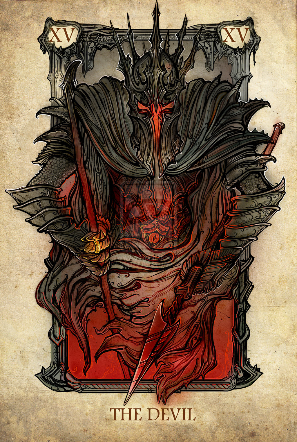 Un jeu de tarot Lord of the rings