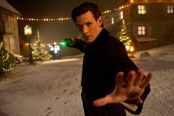 doctor who neige noel 2013 episode special geek gkdv